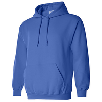 285gsm 50/50 cotton polyester blend velour hoodie unisex with logo custom logo printed