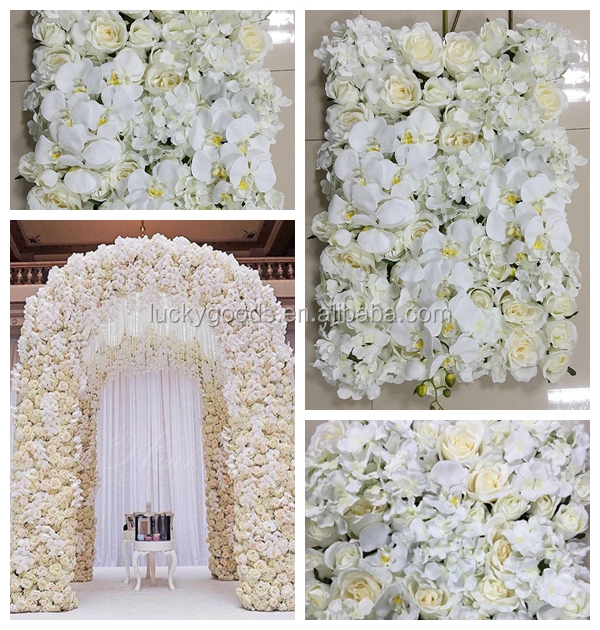 LFB174 Latest design artificial flower for wall decoration for wedding or event