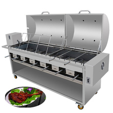 Heavy Duty commerciale del carbone di legna BARBECUE grill <span class=keywords><strong>griglie</strong></span> per barbecue all'aperto BARBECUE spiedo girarrosto