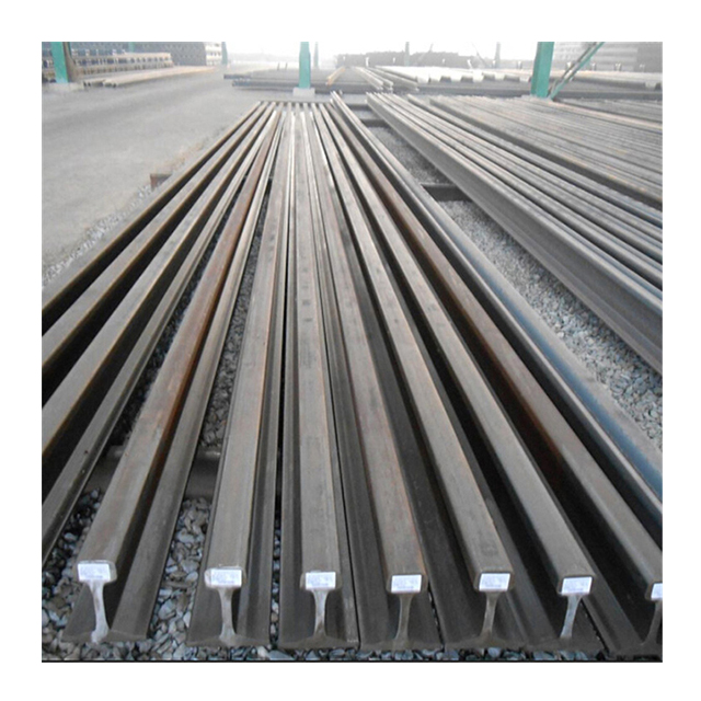 الروسية القياسية المستخدمة القضبان R50 R65 السكك الحديدية خردة تستخدم القضبان