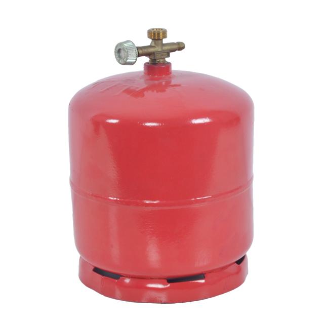 Dapur/Camping 3Kg 7.2L Gas Lpg Silinder untuk Menjual Panas