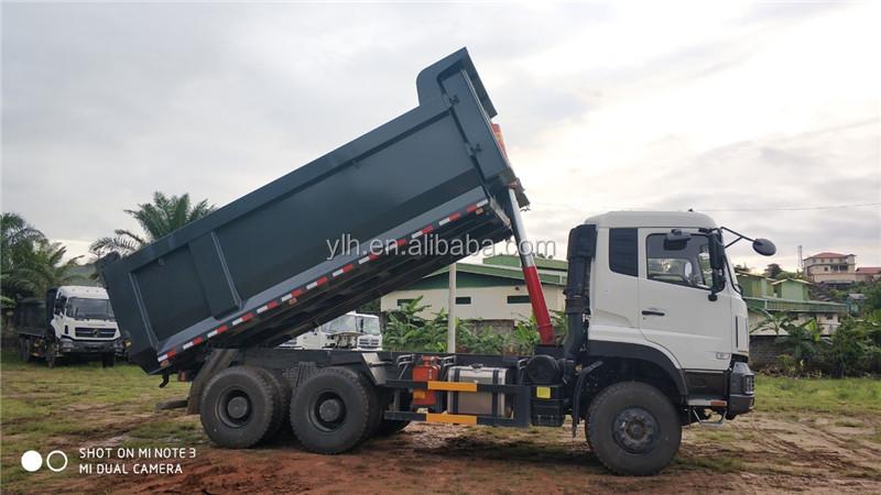 Dongfeng tipper 6x4 16 cubic meter 10 wheel dump truck