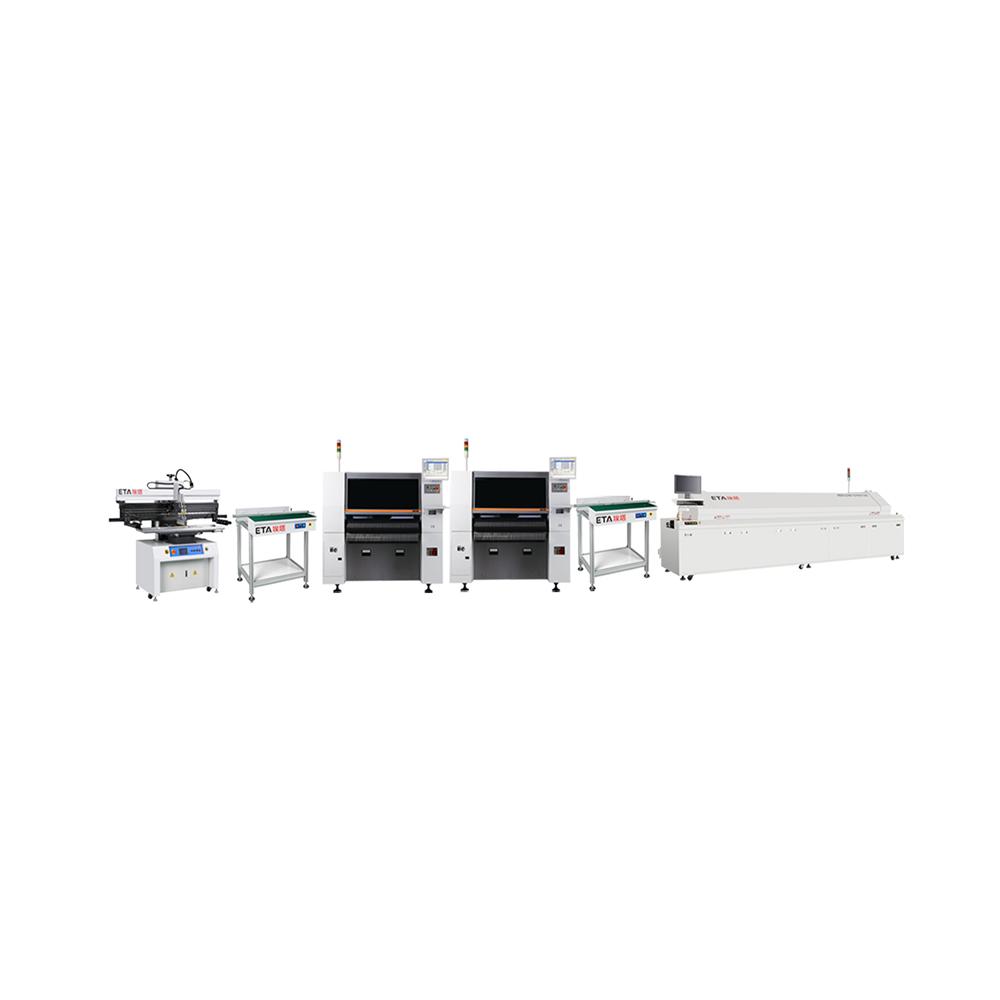 Full Automatic SMT Production Line Equipment LED Bulb Lamp Strip Light Making Machine