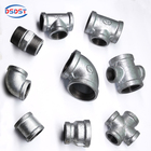 Fittings Malleable Iron Pipe Fittings En10242 Galvanized Black Malleable Iron Pipe Fittings