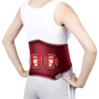2018 new products electric back pain relief vibration waist massage belt with heat