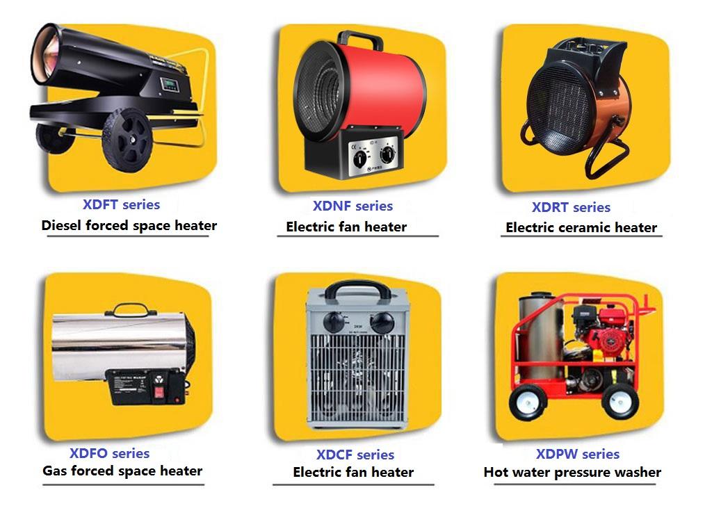 Gas of Diesel Aangedreven Motor Hot Water Hogedrukreiniger