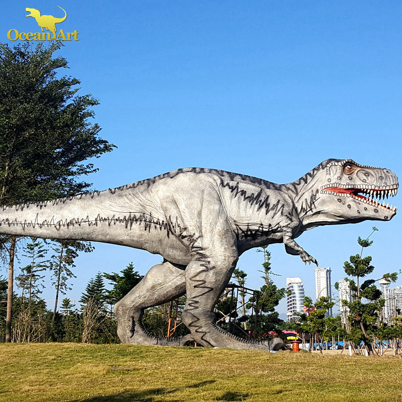 Dinosaur theme park solution