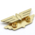 Wholesale Custom Metal Gold Plated Butterfly Clutch Lapel Pin