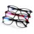 Unisex Diopter Vision Care Elders Reading Glasses Folding Magnifying Eyewear Ultralight Transparent Rimless Eyeglasses +1.0~+4.0