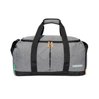 Casual RPET two tone fabric good quality durable travel bag