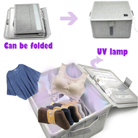 uv sterilizer disinfecting UVC multifunction light Maternal and child package portable sterilization bag