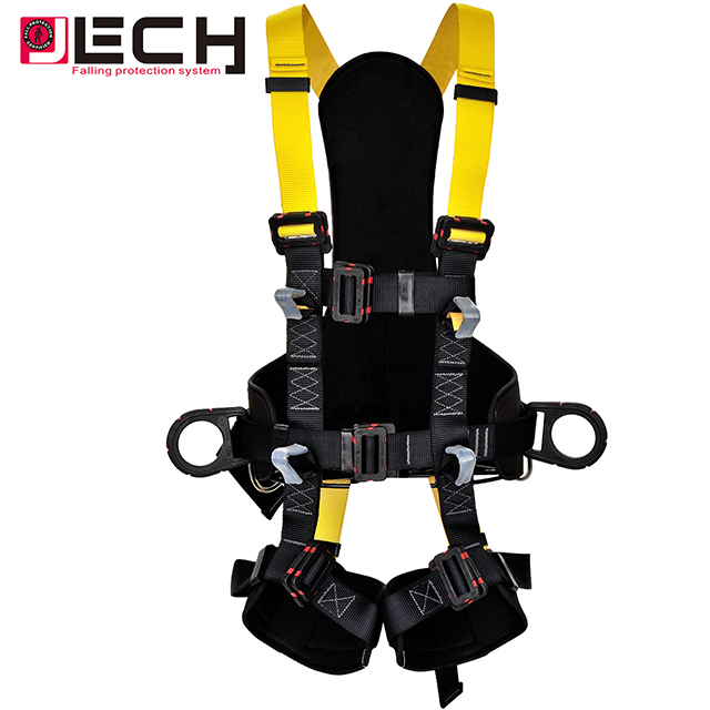 Adjustable full body safety harness insulated for working at height construction working