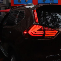 Tail Lights For Ni ssan Rogue X-trail 2014-2019 Led Fog lamp Rear Lamp DRL + Brake + Park + Signal lights