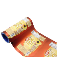 Food packaging laminated snack bag/Customized printed packaging film roll/Aluminum foil packing film