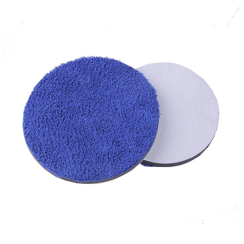 Microfiber polijsten pad spons wax applicator pad 7 Inch 180mm Foam Pad Auto Care tool kits