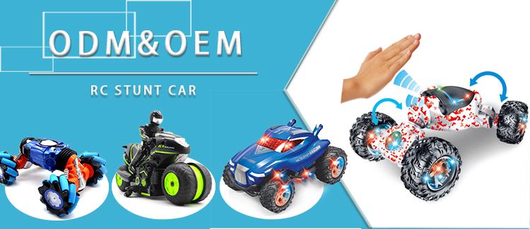 新着中国の要素 RC おもちゃ 2.4 2.4ghz 8CH 4 × 4 ツイストロッククライミングカーラジオコントロール両面スタントカー