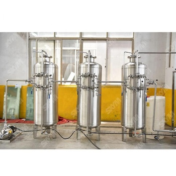 Pure / Mineral Water Treatment Equipment / Drinking Water Filtering Machinery