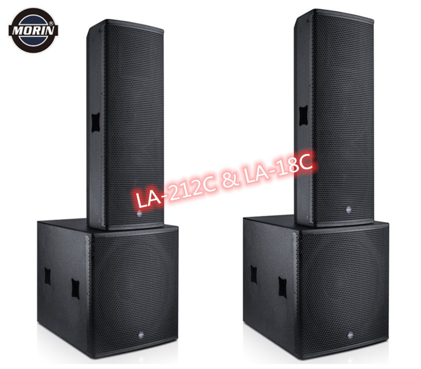 New Brand Active Speaker With 18 inch Subwoofer- Build-in DSP setting amplifier Morin LA-212C