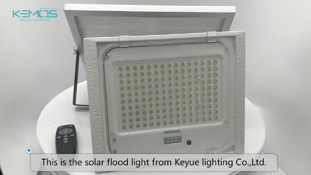 가장 강력한 야외 ip66 방수 50w 100w 150w 200w 300w LED 태양 홍수 빛