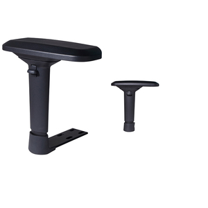 3D/4D Chair armrest PU office chair parts Plastic Nylon PU Adjustable folding Armrests For Office Chair Furniture Components