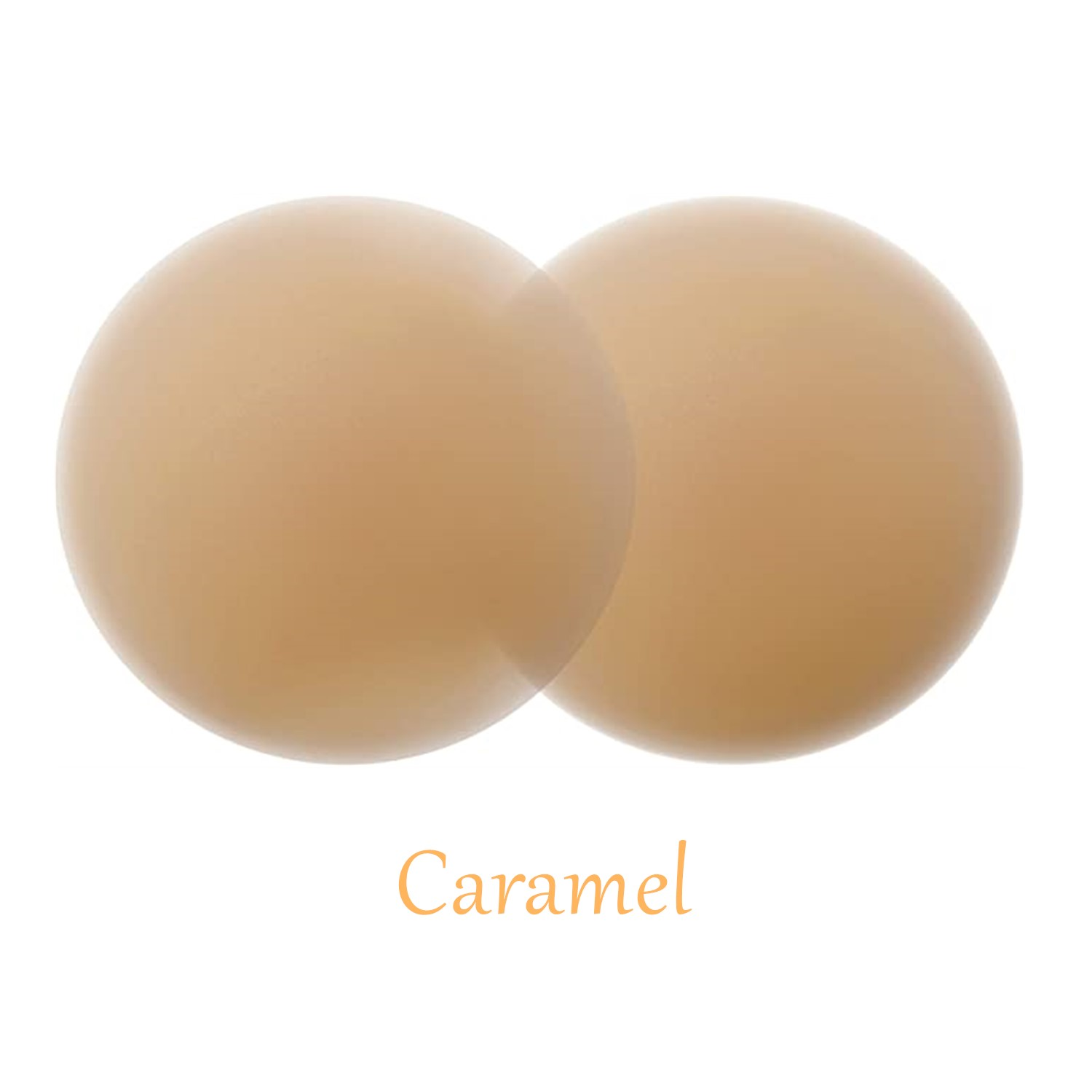 8CM Medical Grade Self Adhesive Invisible Silicone Ultra Thin Brown Nipple Cover Pasties Custom For Boob Tape