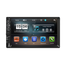 Ezonetronics <span class=keywords><strong>Universele</strong></span> 2 Din Touch 7 Inch Fm Radio Auto Video MP3 MP4 Dvd-speler Met Usb Tf Sd Aux reverse Camera Auto MP5 Speler