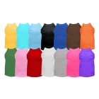 Wholesale Plain Pet Cat Summer Clothes Dog T shirt