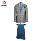 MTM Wholesale Men Slim Fit Bespoke Suit 2 Piece For Terno Men Suits Machine Washable Suit