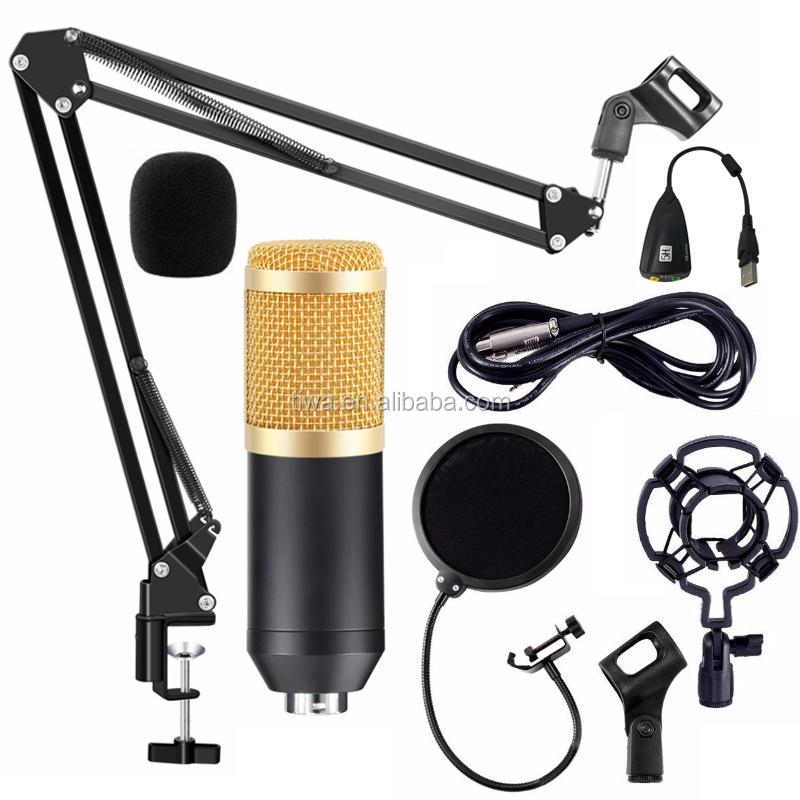 Bm800 Set Completo Microfono A Condensatore da studio kit