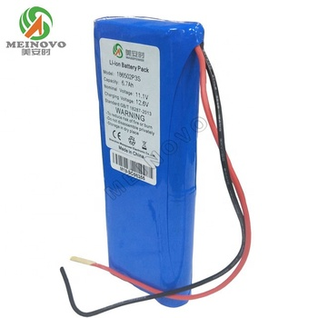 12V 6700mAh li ion 18650 battery pack 2p3s