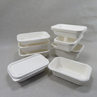 Lunch Tray Lunch Tray Disposable Biodegradable Bagasse Lunch Tray With Lid