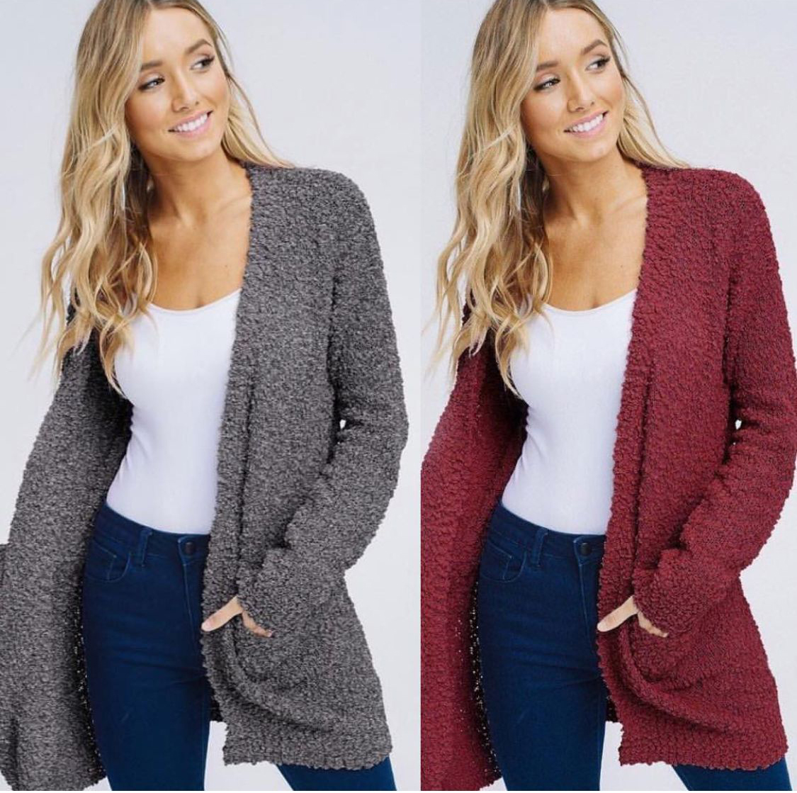 E78 Popcorn <strong>cardigans</strong> with pockets ladies <strong>cardigan</strong> sweaters 2019 <strong>cardigan</strong> sweater