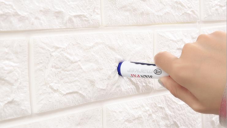 Wholesale PVC HD Tahan Air Wallpaper Dekorasi Rumah