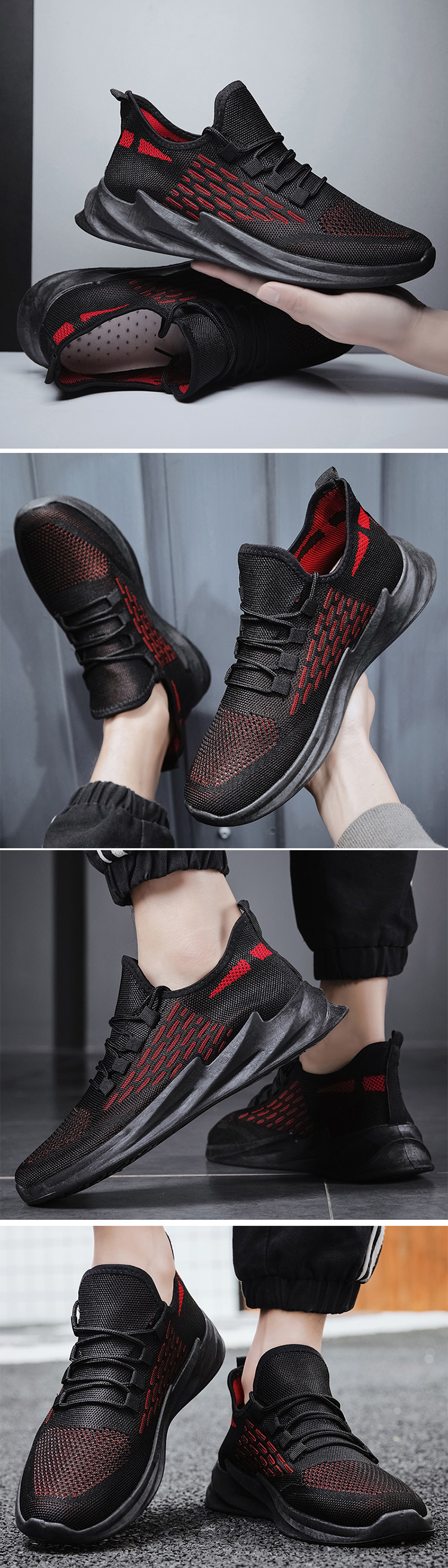 China Factory Wholesale Injection Customizable Private Label Fitness Running Color Men Sneaker