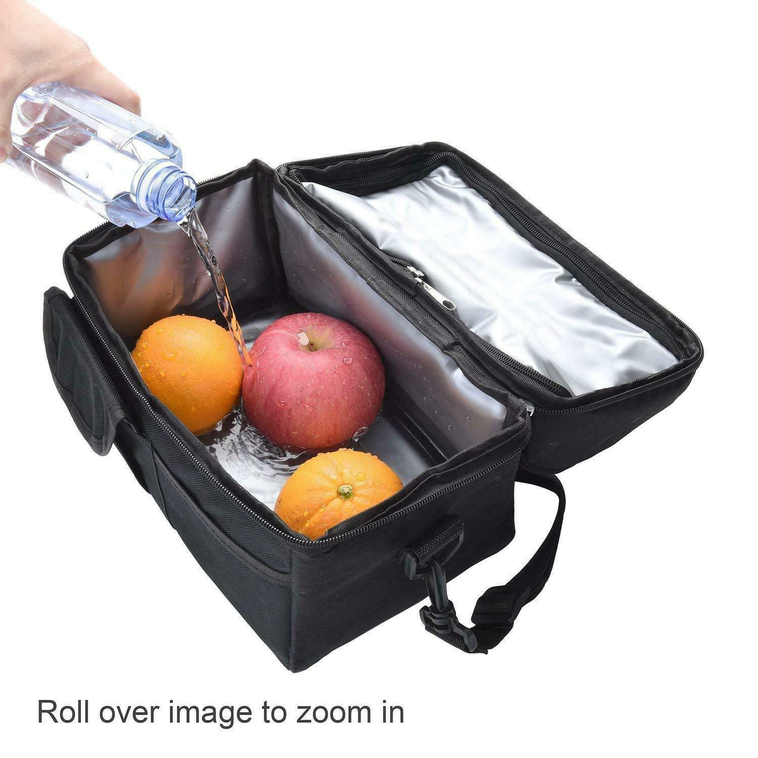 product-Newest fashion large capacity Adult Kids Portable Insulated Lunch cooler Bag Work Picnic Bag-1