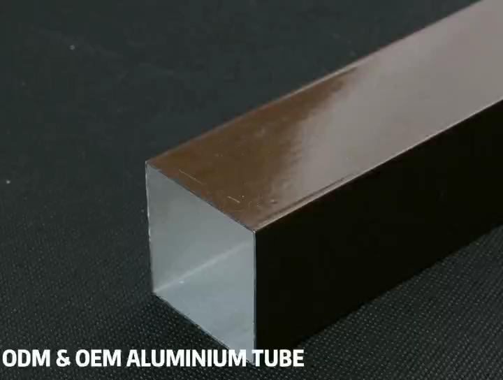 알루미늄 중공 단면도 모듈 주방 캐비닛 알루미늄 광장 프로필