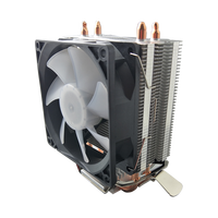 Best budget 80x80x25mm fan cooling CPU 90W stock