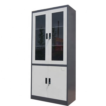 Morden office furniture metal bookcase storage cabinet swing door file cabinet steel filing cabinet