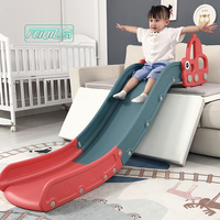High quality new design colorful baby playground kindergarten indoor cheap play children toys plastic kids slide for sale