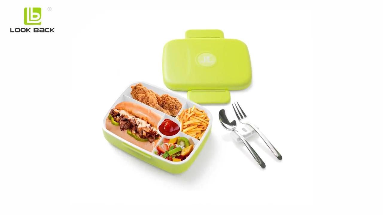 Amazon Top Verkoper 2018 Lekvrij Magnetron Safe Kids Lunchbox