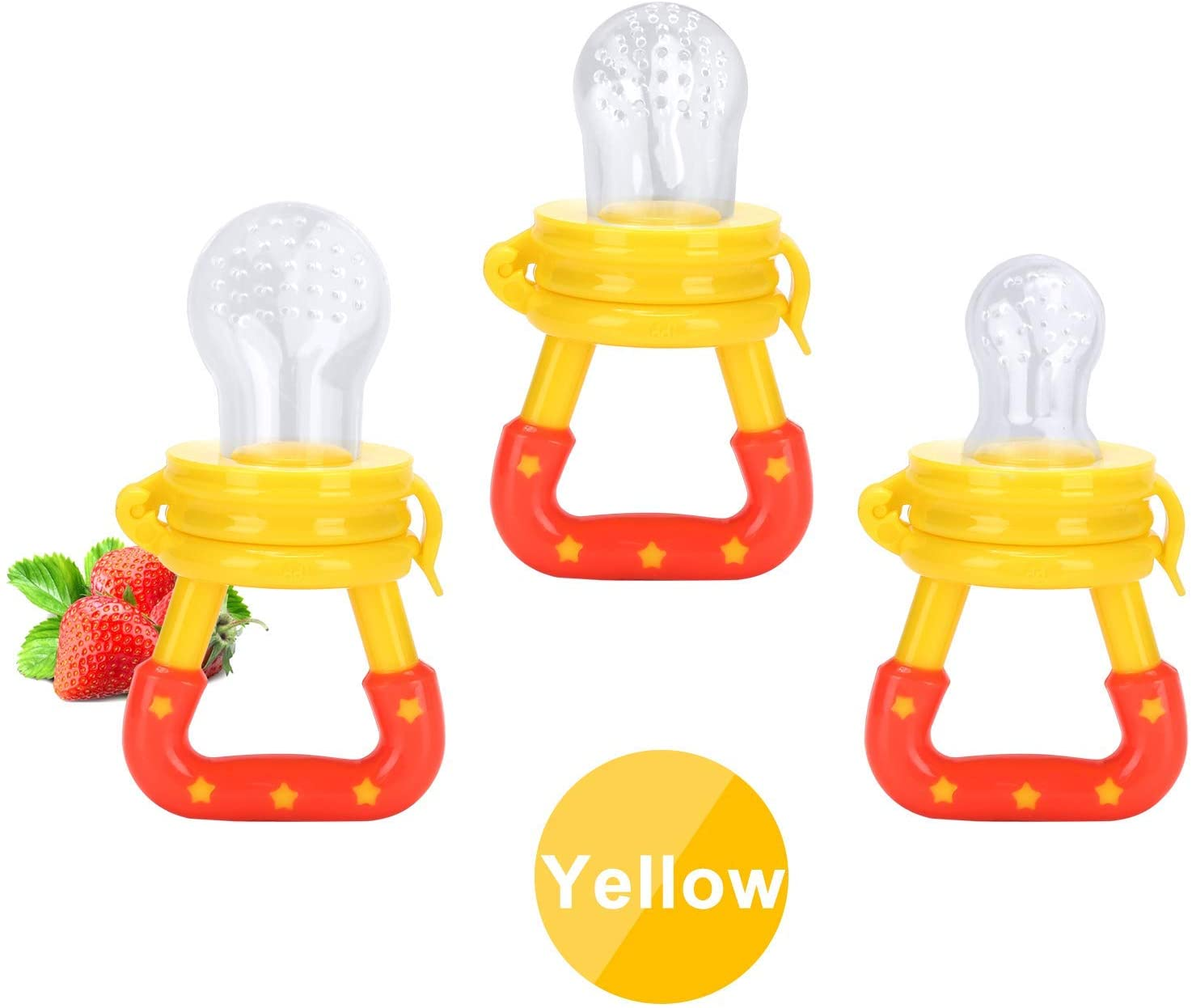 Food Grade Soother Silicone Nipple Pacifier Baby Fruit And Vegetable Feeder