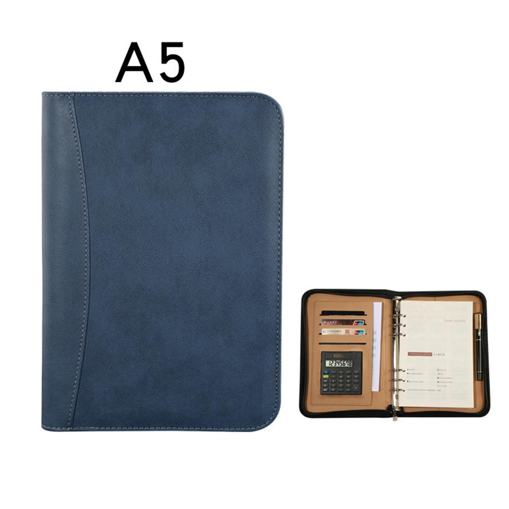 2020 ежедневный блокнот А5 из искусственной кожи с калькулятором, спиральный личный дневник, планировщик, блокнот-органайзер для путешествий,...(Китай)