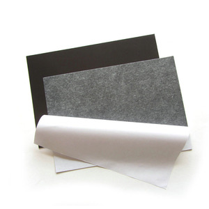 Double side adhesive A4 rubber magnetic sheet