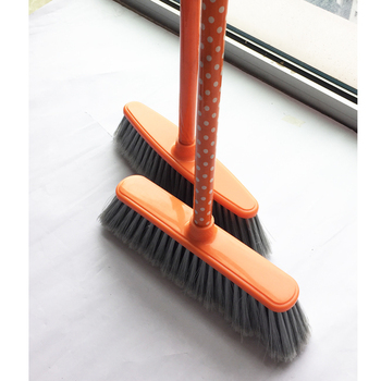 Wholesale custom-made 120cm 150cm length wooden Plastic broom&Mop with handles