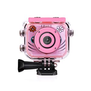 Waterproof Kids Outdoor Camera with Cartoon Videos Phone Frames