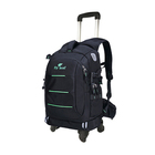 New design style camera backpack bag with wheel carry on trolley wheel for backpack wheel attachment