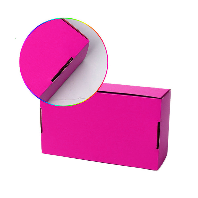 Custom Logo  Foldable carton color box corrugated Shipping paper Boxes for clothing Shoes packaging