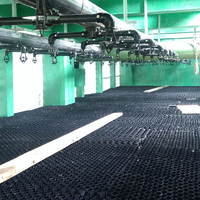 Water and packing systems are used Circulating cooling water treatment equipment series