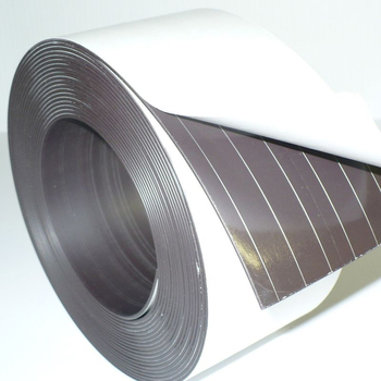 Super Strong Adhesive Rubber Magnetic Strip Profile Magnetic Tape