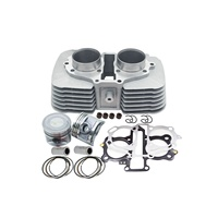 Motorcycle Cylinder Kit For Honda CBT250 CA250 Rebel CMX250 DD250 CBT CA CMX DD 250 253FMM Engine Spare Part